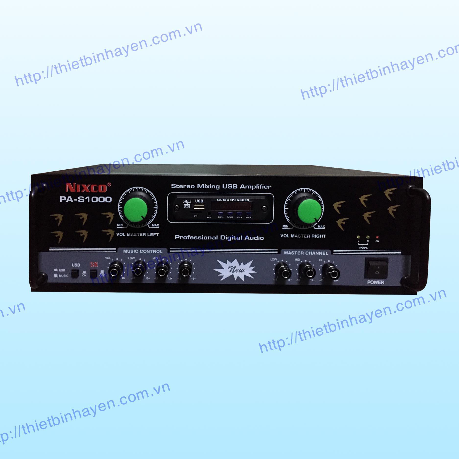 AMPLY NIXCO PA- S1000