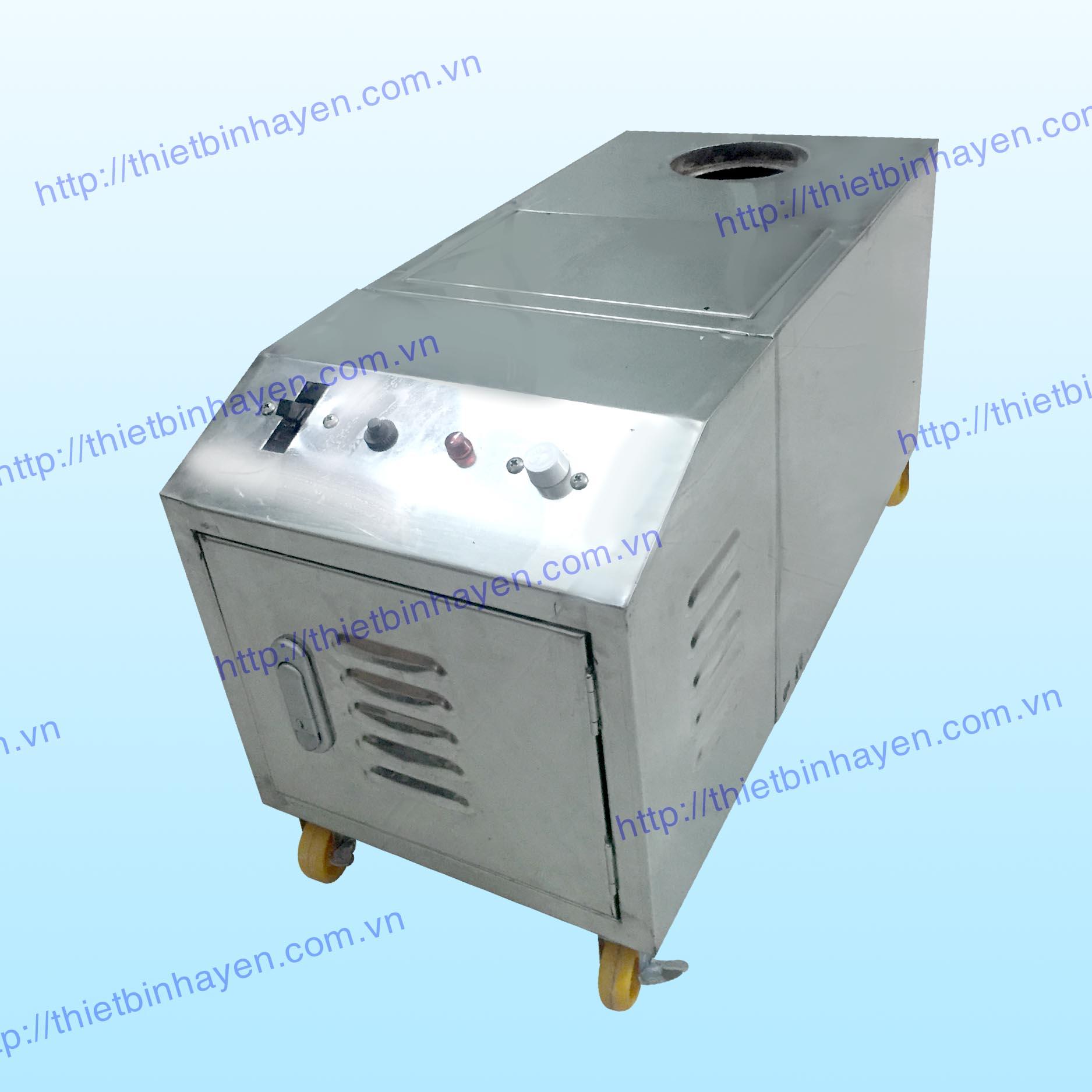 Máy tạo ẩm sóng siêu âm 3 vỉ thùng Inox