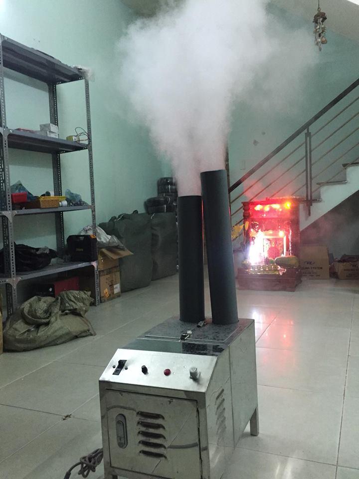 Máy tạo ẩm thùng innox 80- 100M2